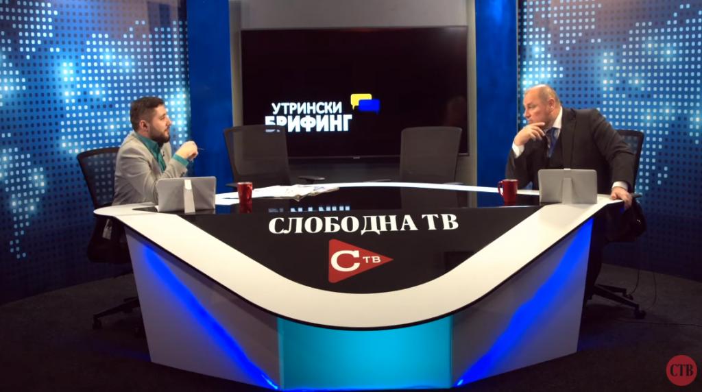 Љупчо Ристовски во Утрински брифинг со новинарот Влатко Чаловски